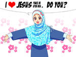 I love Jesus pbuh. do you?