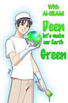 Let's make our earth GREEN