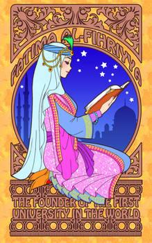 Fatima Al-Fihriyya Art Nouveau