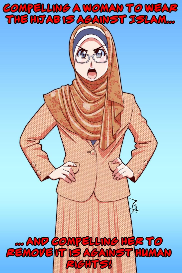 No Compulsion in Hijab 01 by Nayzak