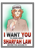 I want you to know Shari'ah by Nayzak