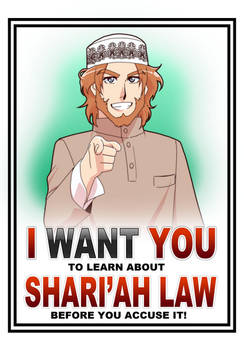 I want you to know Shari'ah