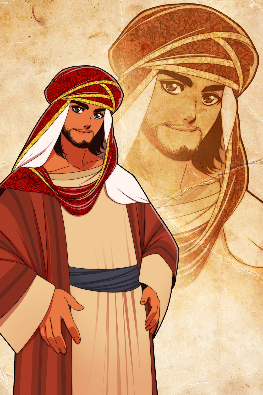 An Ancient Arab by Nayzak on DeviantArt Ancient Muslim Clothing For Men