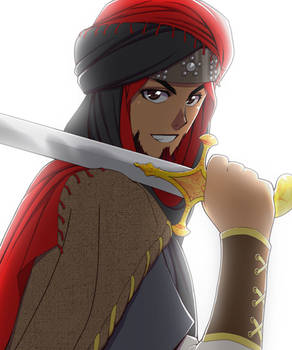 Arab with a Sword