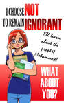 I choose not to remain ignorant 01