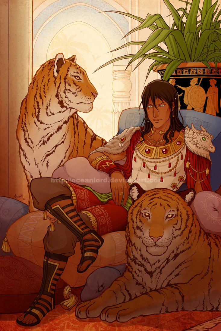 ..:: Tigers ::.. by OceanLord