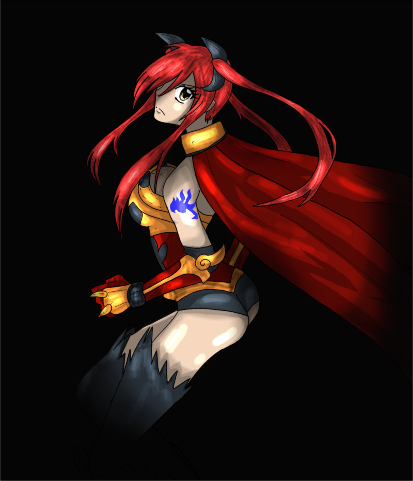 Erza Scarlet - where are you? [other version] by mingmiyu
