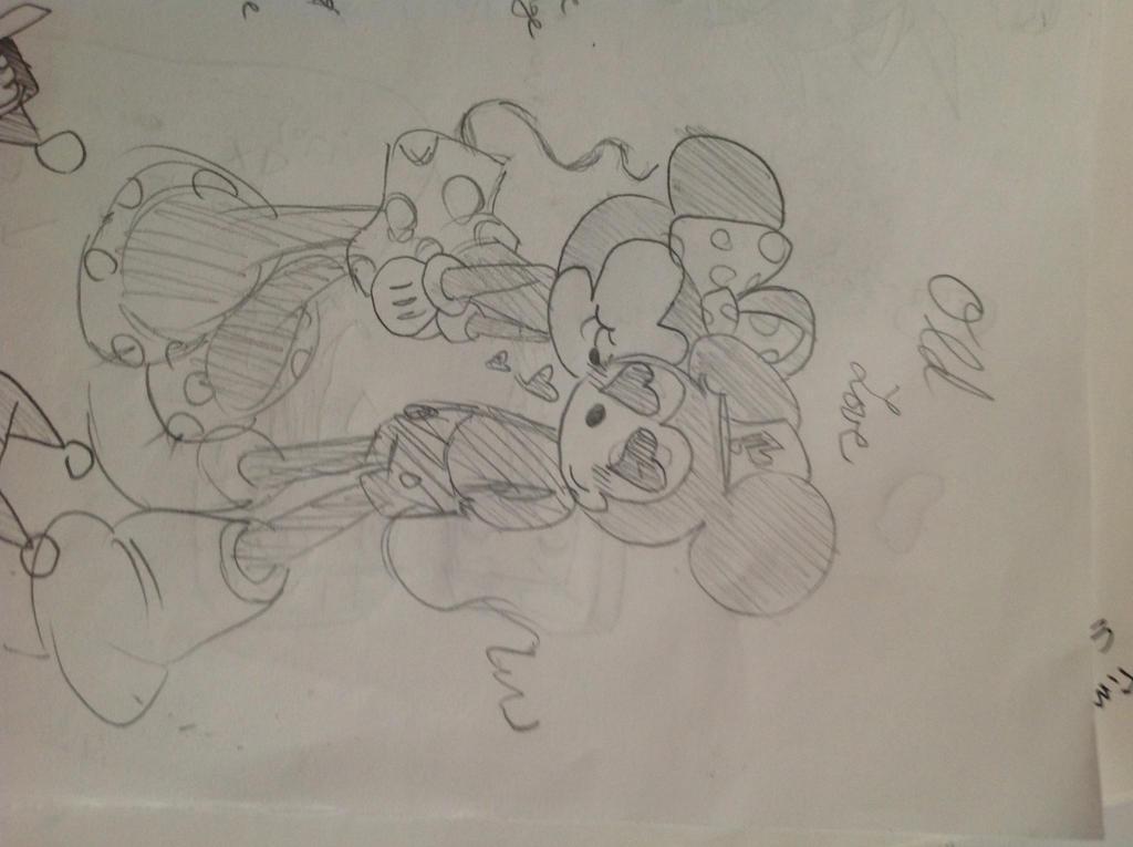 Minnie and micky I think by RichHoboM3