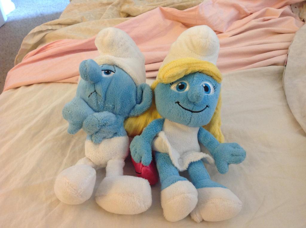My smurfy toys by RichHoboM3