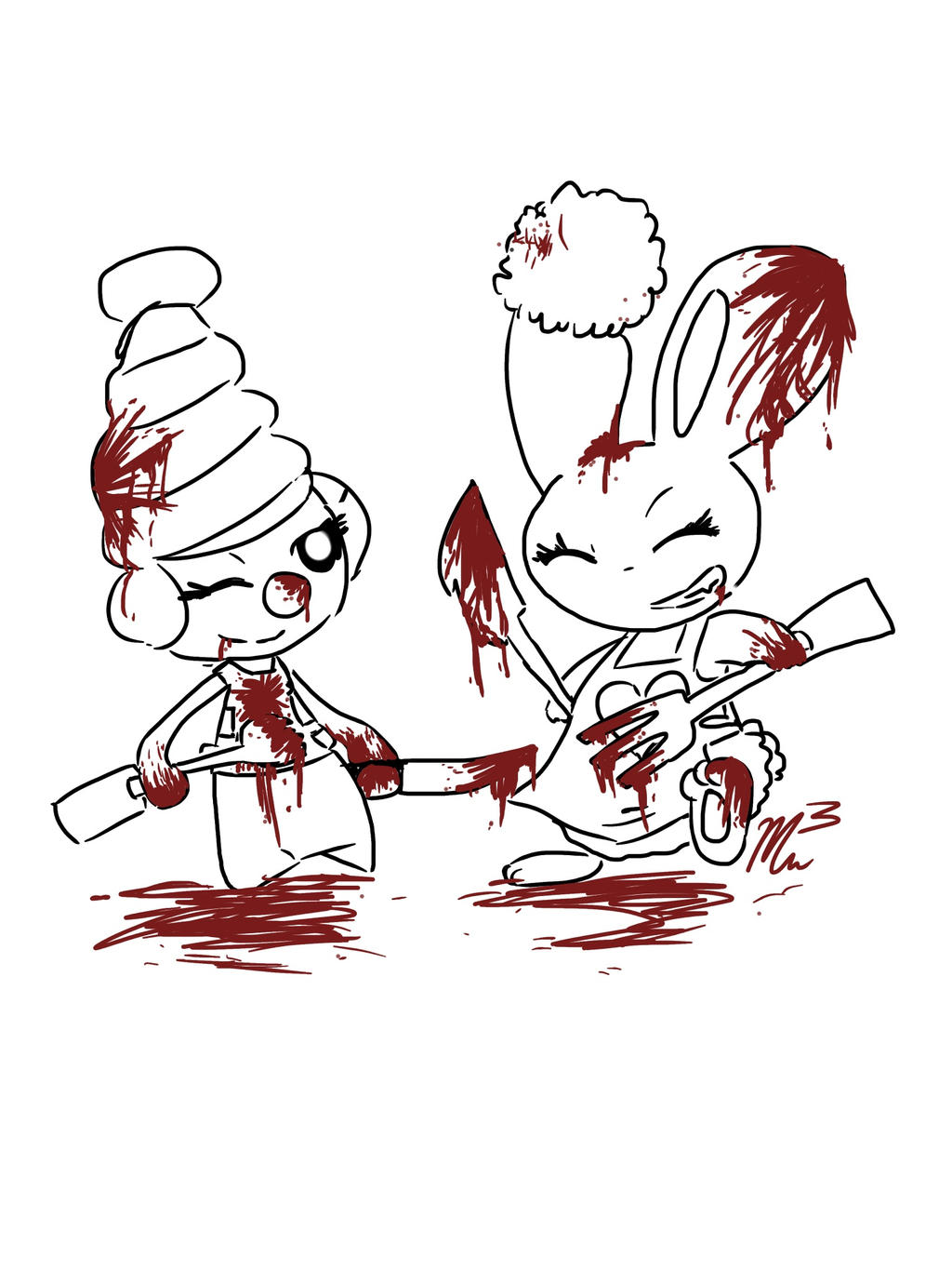 Bloody Allies...Bloody Enimes by RichHoboM3