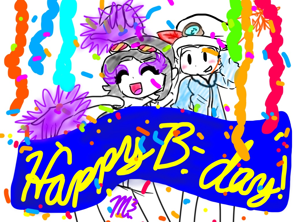 Happy b-day !!! Sorry im late by RichHoboM3