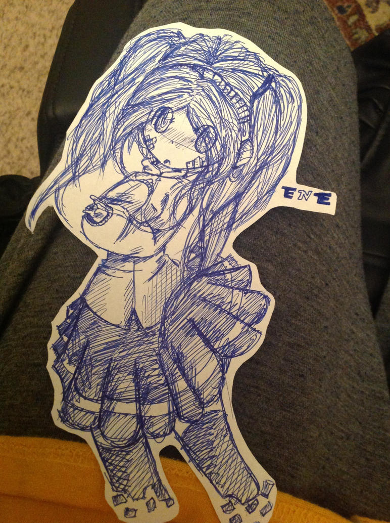 Ene (Kagerou Project) by RichHoboM3