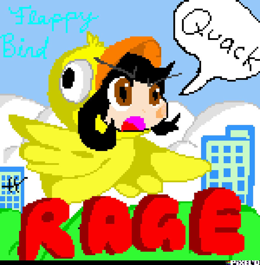 Flappy bird is rage itself by RichHoboM3