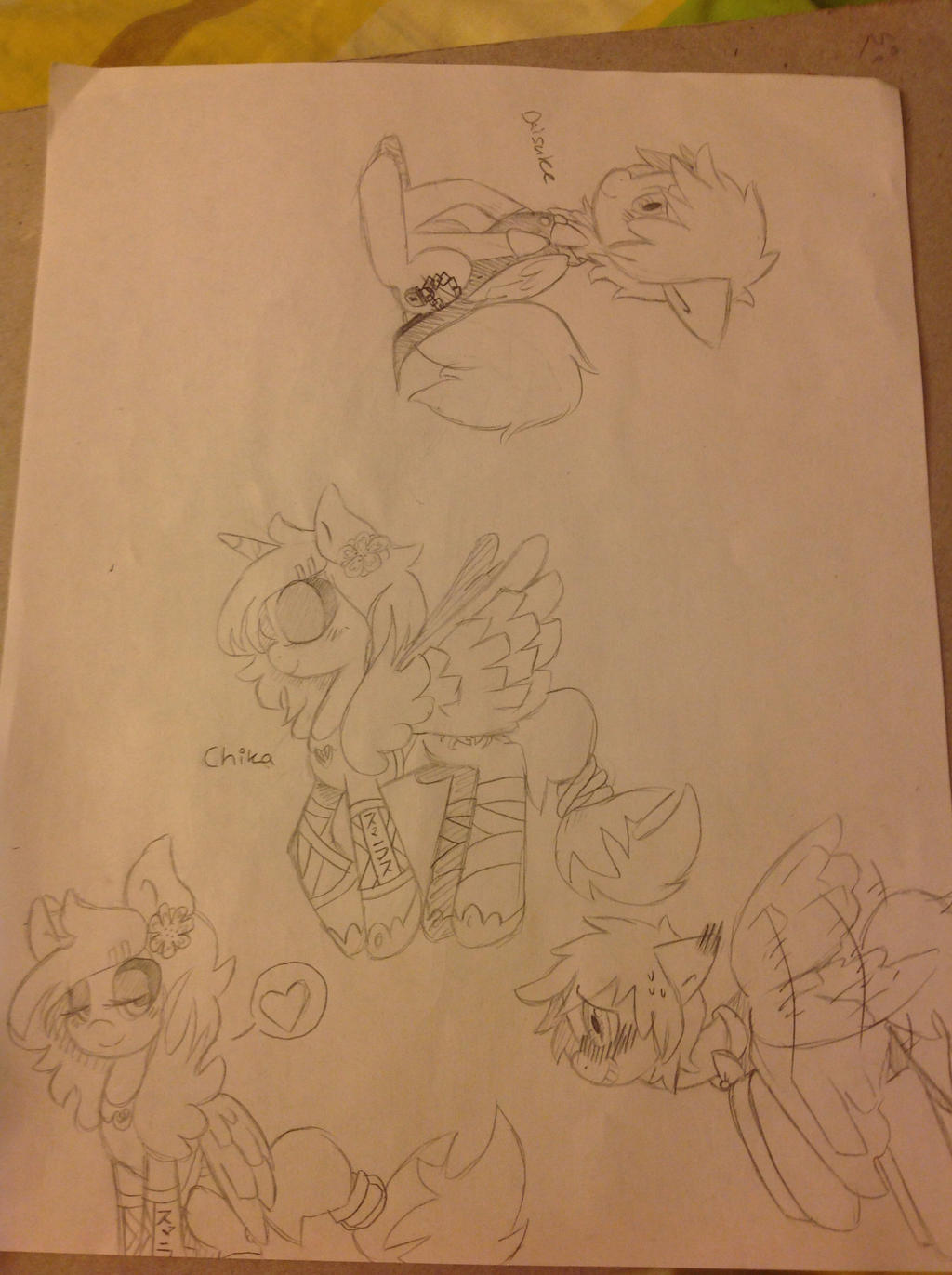 Meet Daisuke and Chika! MLP by RichHoboM3