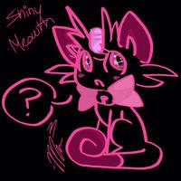 Shiny Meowth by RichHoboM3