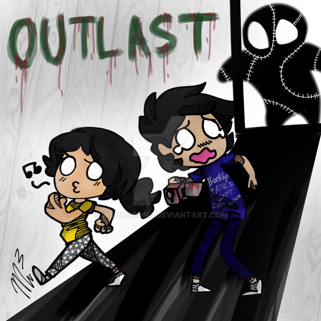 Outlast with my bro by RichHoboM3