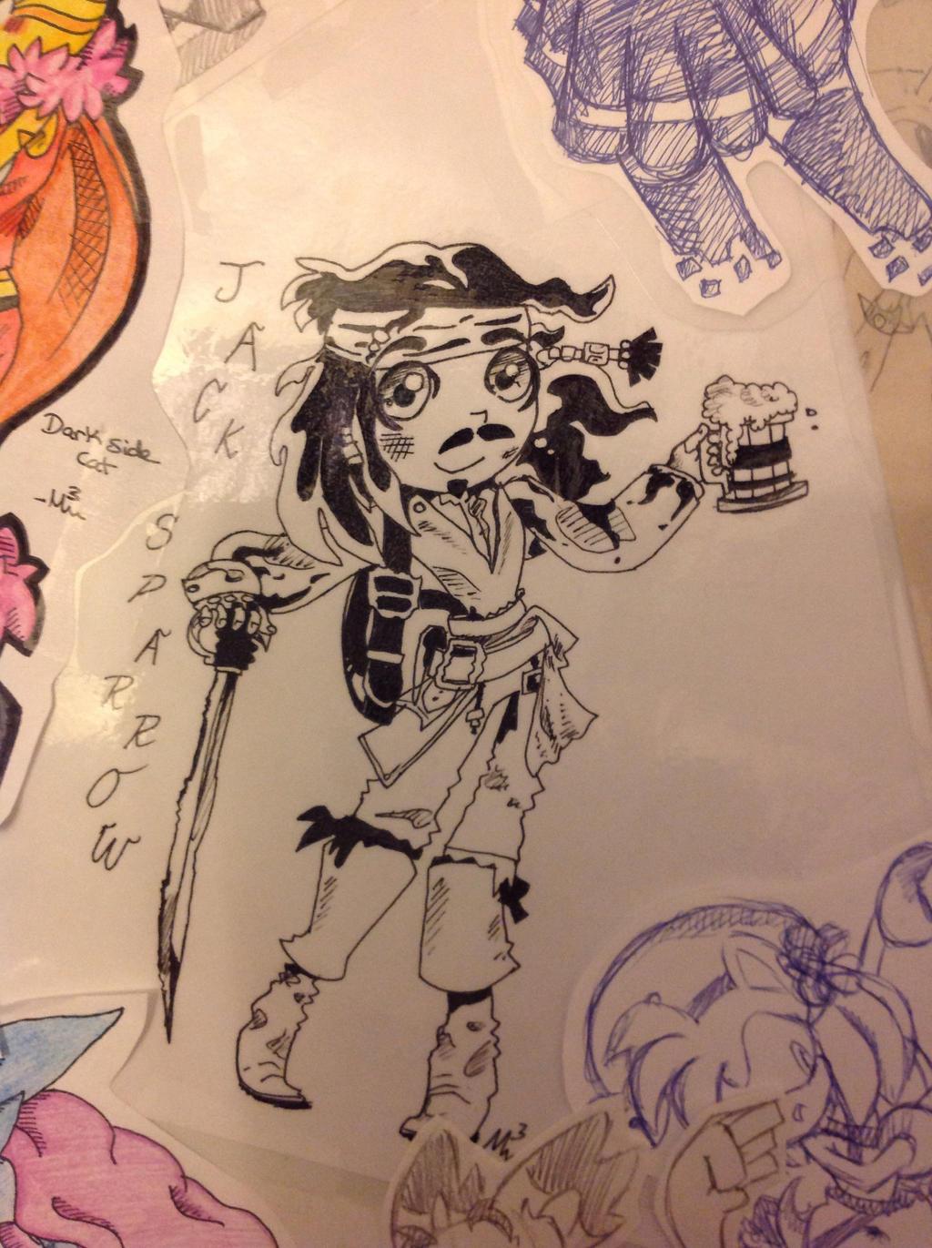 Jack Sparrow by RichHoboM3