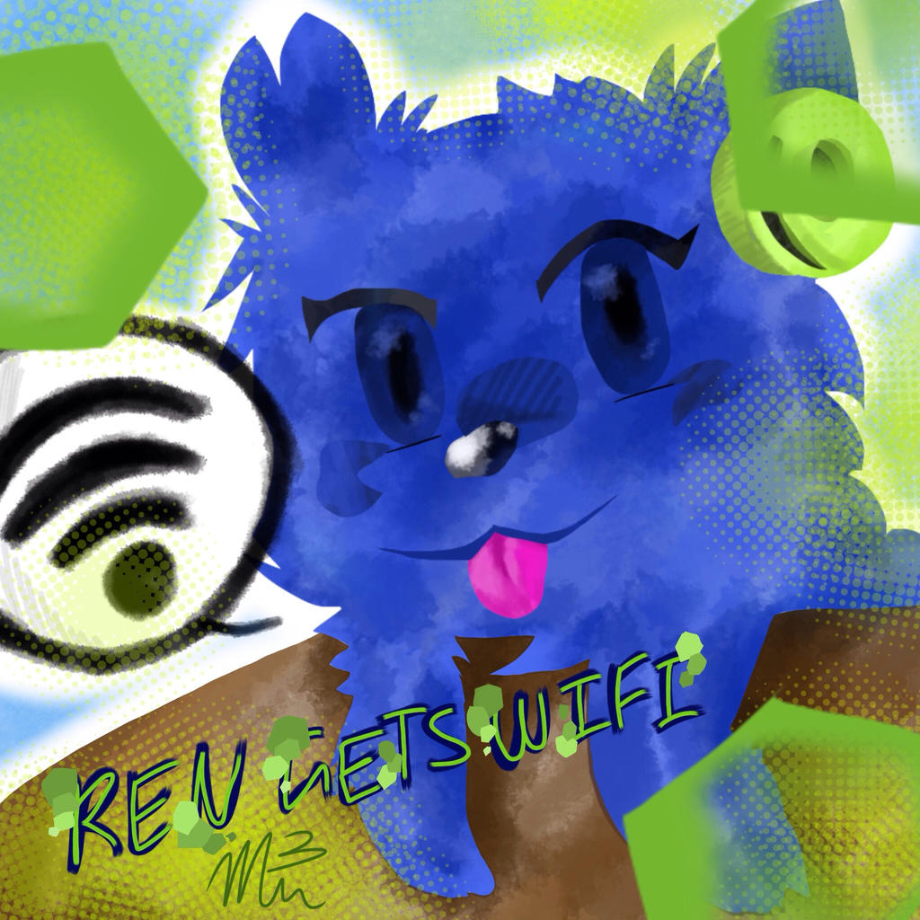 Ren gets wifi by RichHoboM3