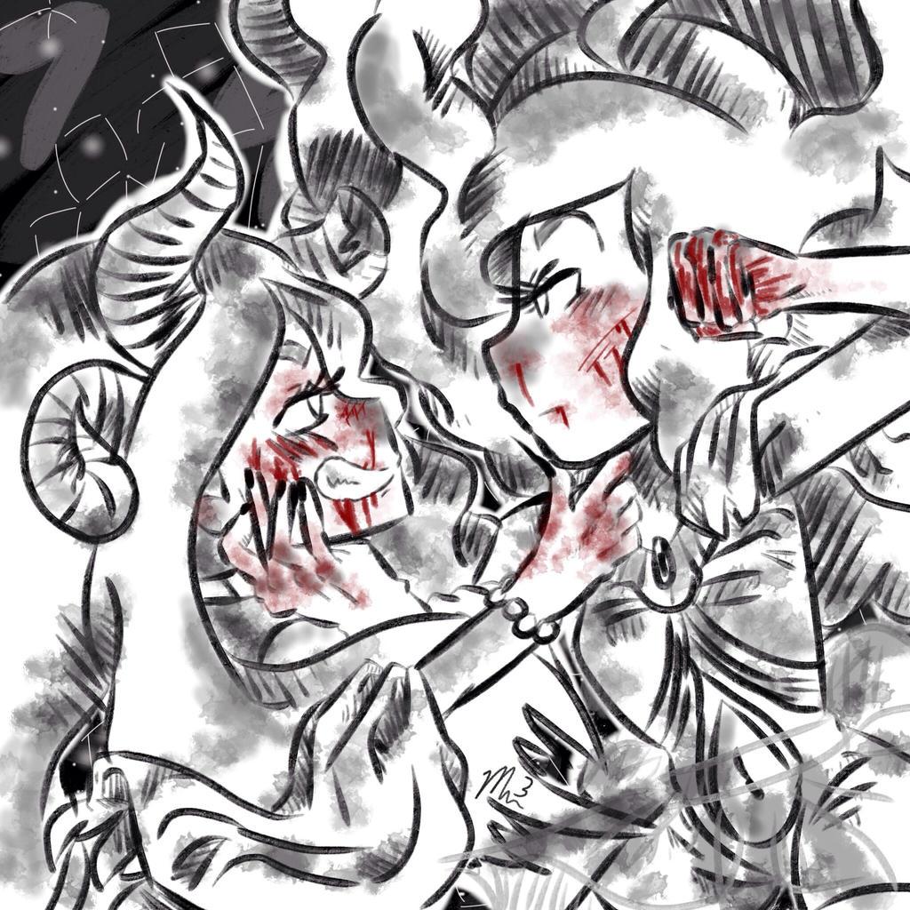 Cosmic war (bloody) by RichHoboM3