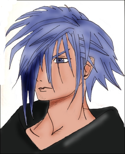 Zexion Colored using GIMP by akatsuki-girl-krista