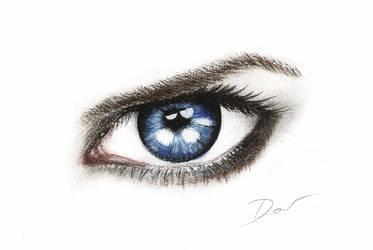 Blue Eye by Acalewia