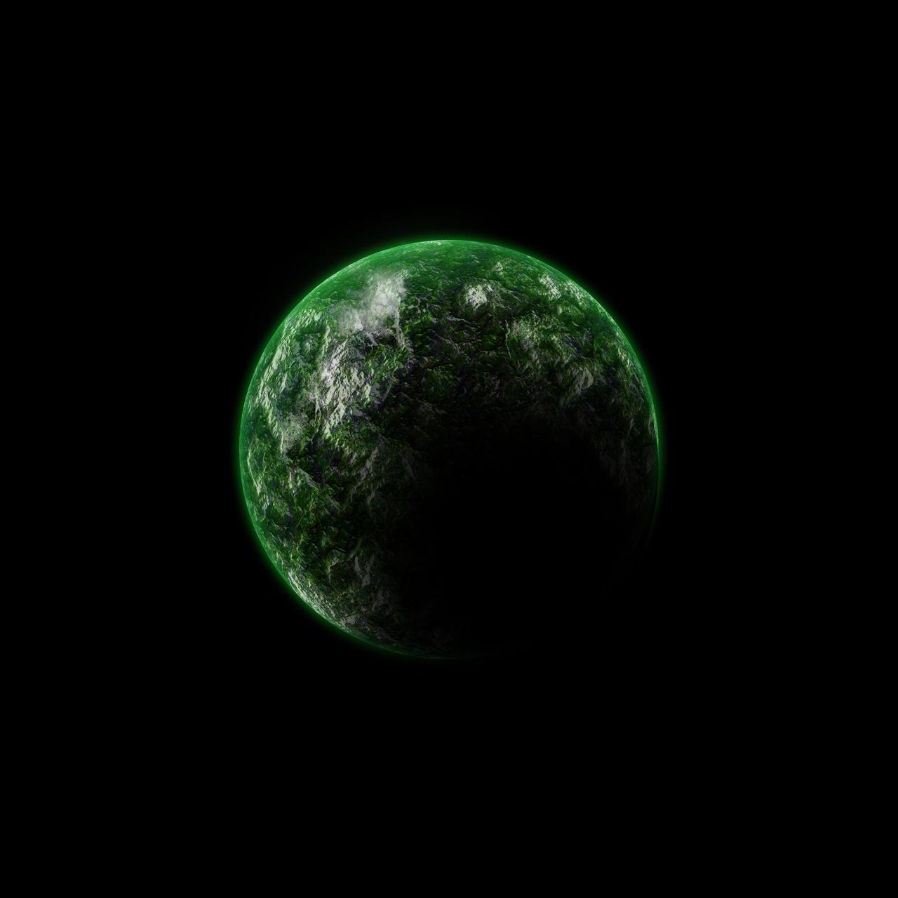 Green Planet by HugleBunnys