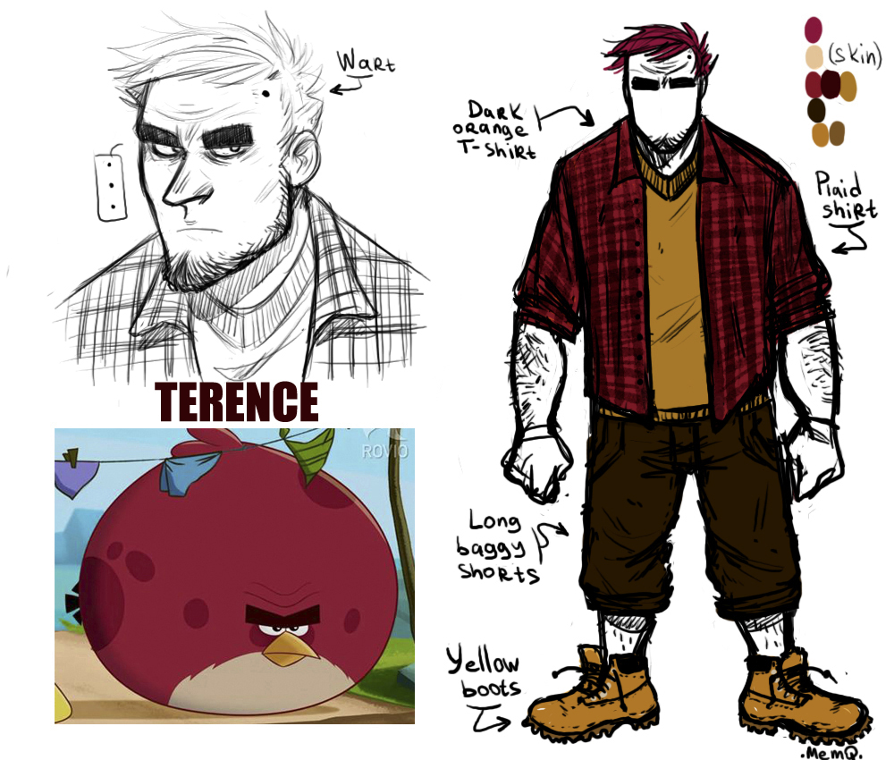 Angry Birds favourites by Metana on DeviantArt
