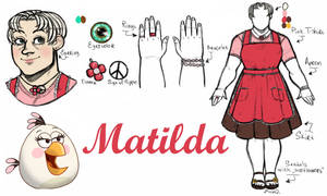 Angry Birds Toons : Matilda Humanization