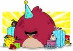 Angry Birds (Toons) :  HAPPY BIRTHDAY ANGRY BIRDS