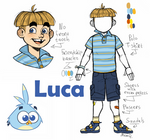 Angry Birds Stella : Luca humanization