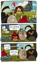 Angry Birds Toons : Chuck as Mona Litha