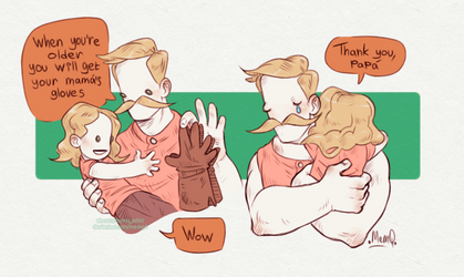 Pit People : Mama's Gloves by MemQ4