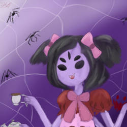Muffet bae by HeartsMadeOfDiamonds