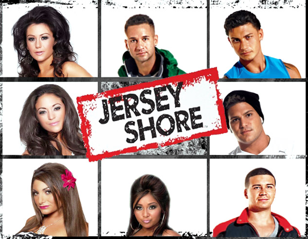 jersey shore bunch by EARTHDOG420