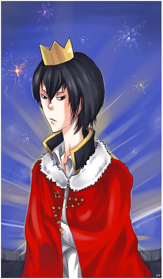I wanna be a king by lajt-hane