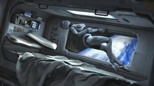 Mechanoid Rebel Sci-Fi Space - Dreaming