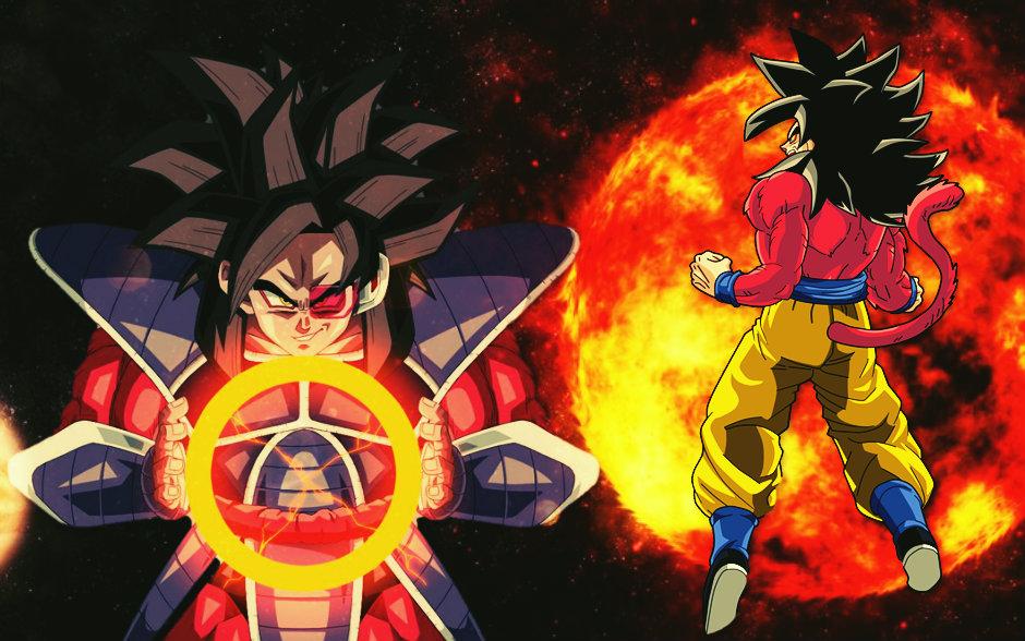 Goku Ssj4 Vs Goku Ssj3: SSJ4 Turles VS SSJ4 Goku By LordAries06 On DeviantArt