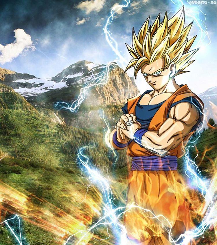 Son Goku Ssj2 Wallpaper By Lordaries06 On Deviantart
