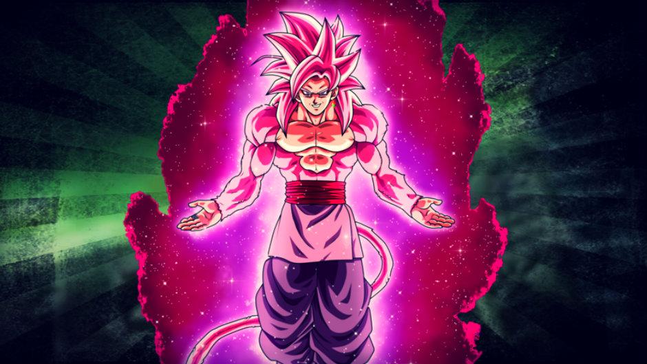Goku Black Ssj Rose Para Colorear: SSJ4 Rose Black Goku By LordAries06 On DeviantArt