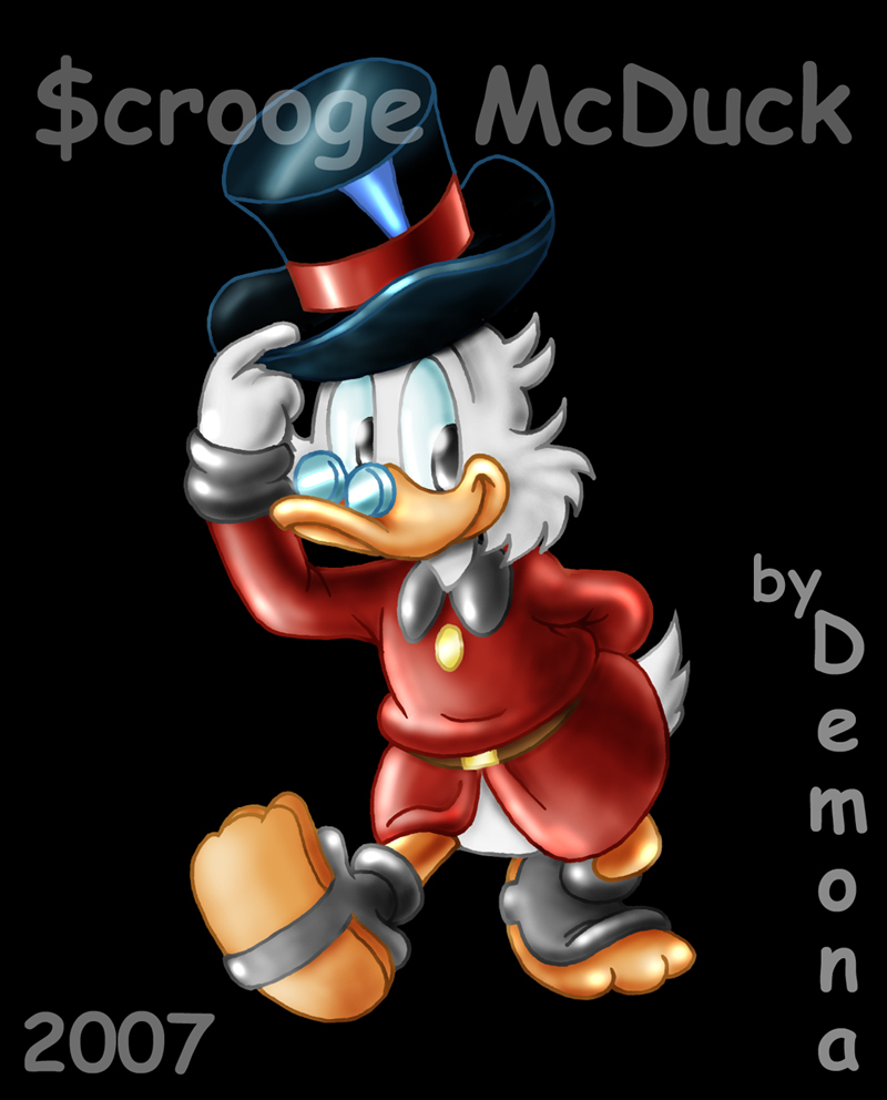 Another Scrooge By Demona1 By TheScroogeCrew On DeviantArt
