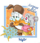 Scrooge and Goldie by NuttyIsa