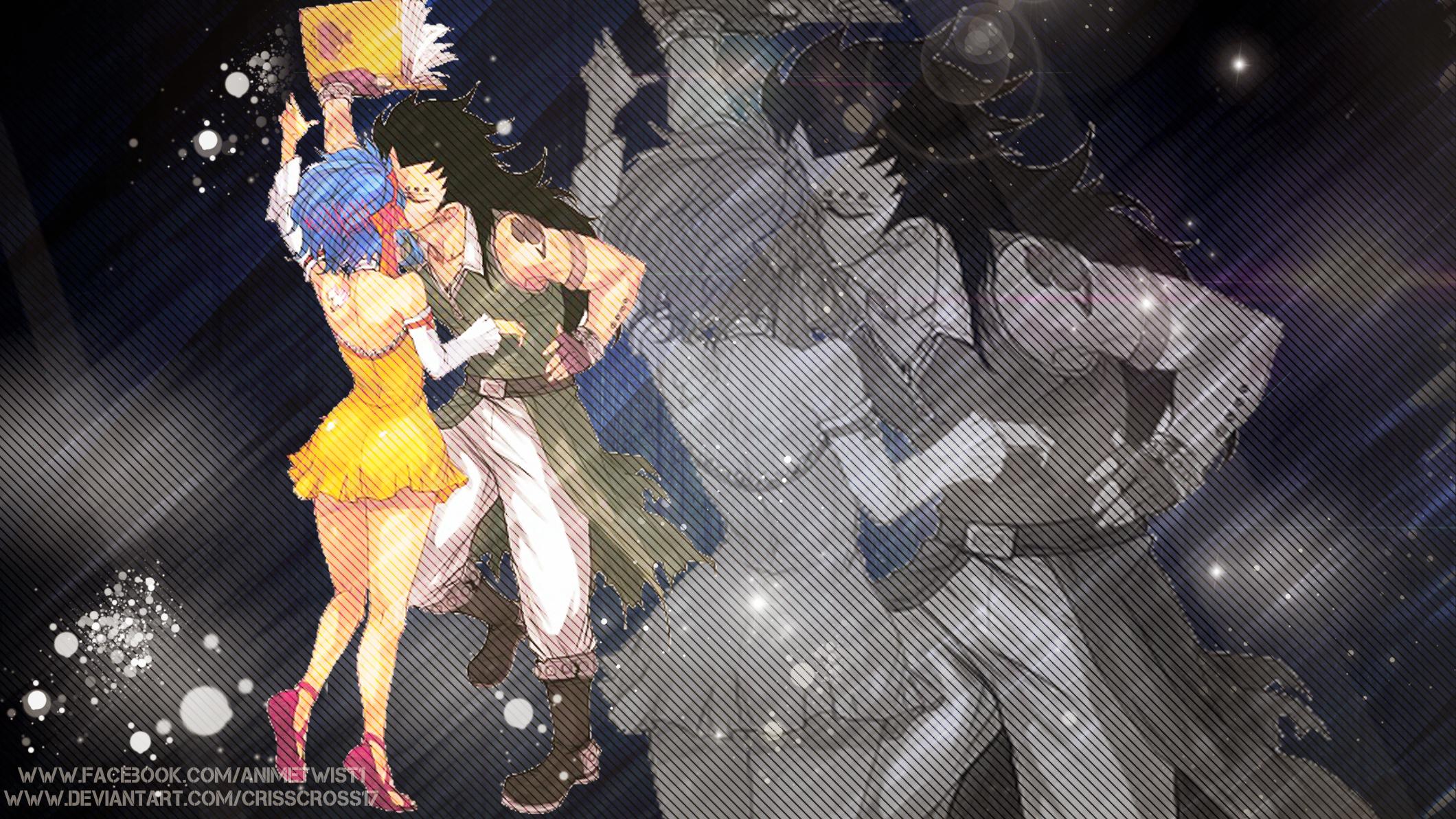 Levy x Gajeel [Fairy Tail] Wallpaper by Crisscross17 on ...