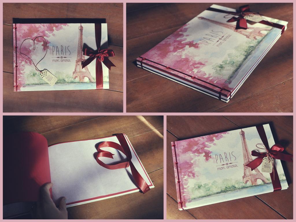 Paris Mon Amour photo album by sahdesign