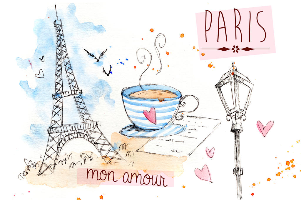 Paris Mon Amour 2 by sahdesign