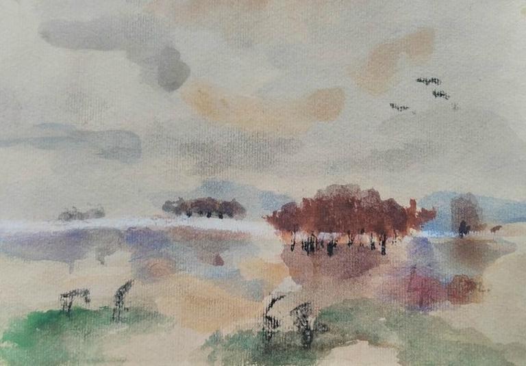 Landscape Sketch by Melliora