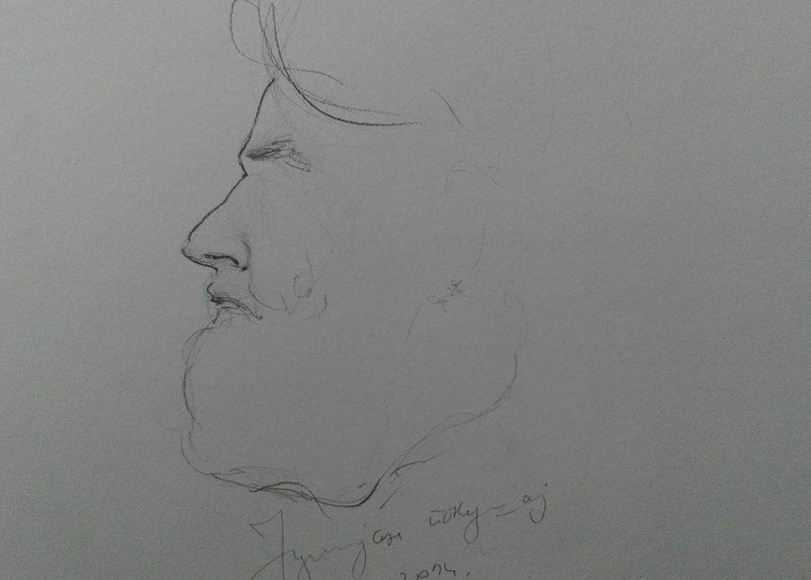 Portrait of Julian by Melliora