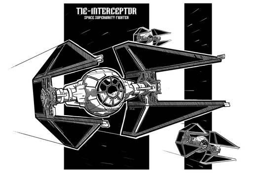 Tie Interceptor Sheet