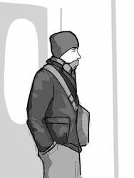 Subway Sketch 8 by Rafta