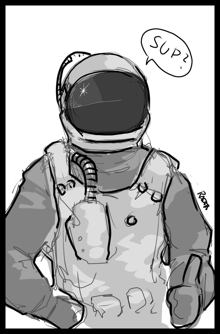 Space Dude by Rafta