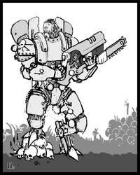 Strogg Railgunner